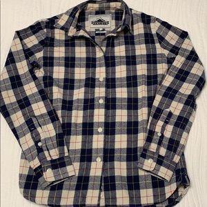 Penfield x Madewell button down boyfriend shirt